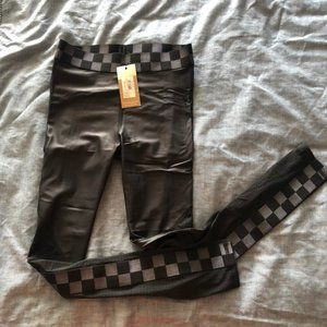Alala Varsity Black Checkered Tight